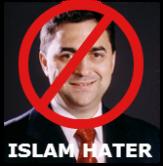Islam Hater Balzola Looses Again